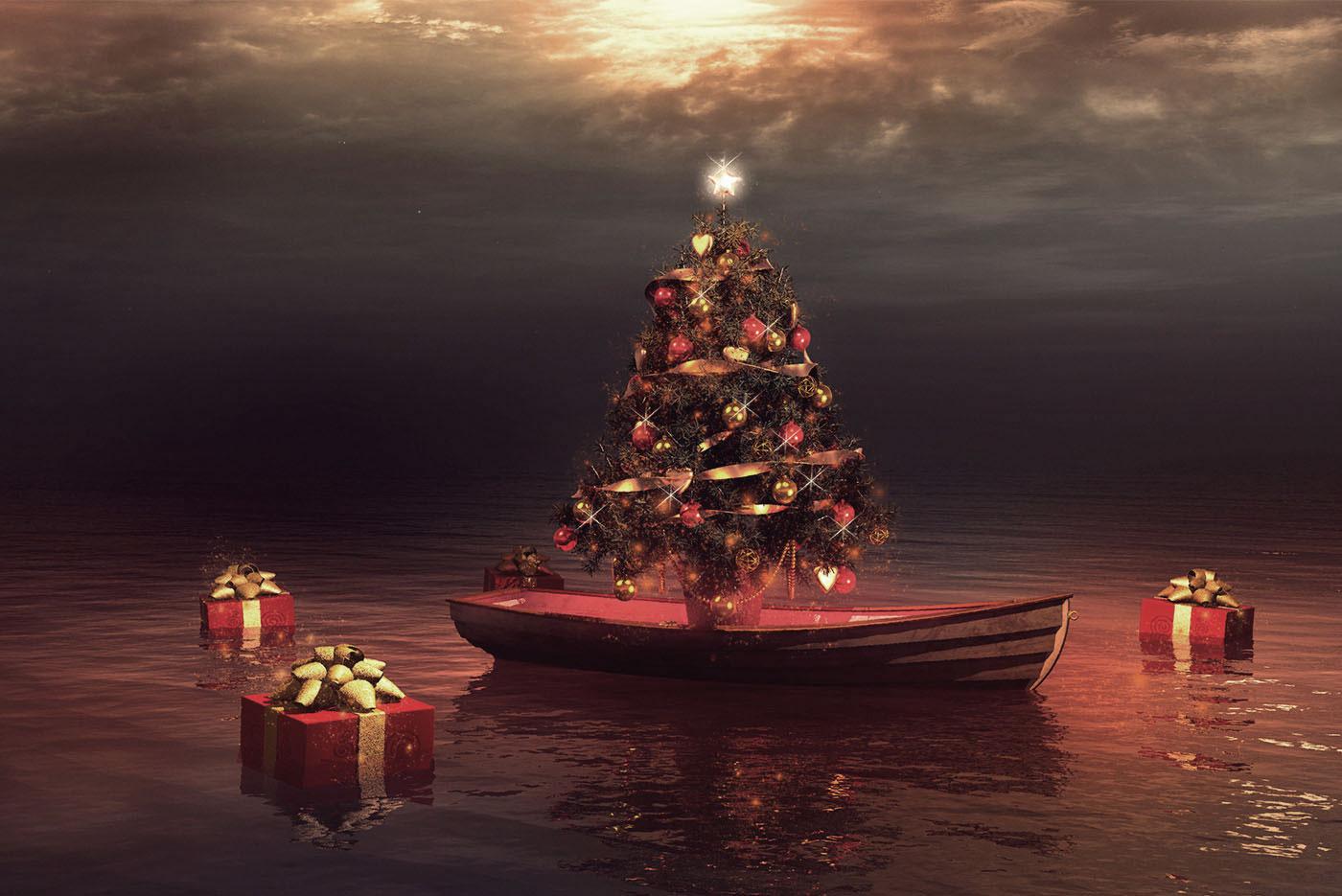 Weihnachten_auf dem Schiff