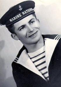 Matrose der französischen Marine